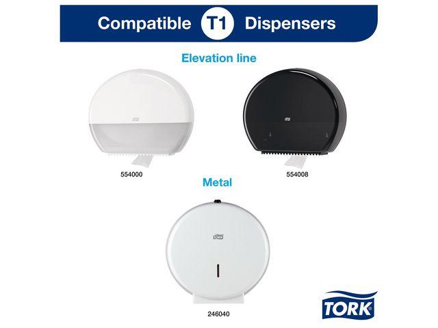 Toalettpapper TORK Uni T1 1-lag 480m