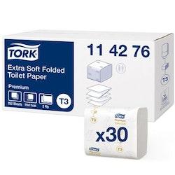 Toalettpapper TORK Pre T3 Vikt 7560/FP