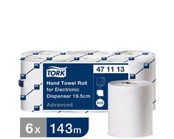 Handduk TORK Adv H12 2-lag vit