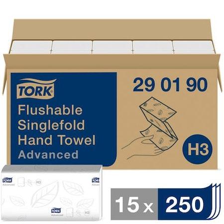 Handduk TORK Adv H3 2-lag spolb 3750/FP