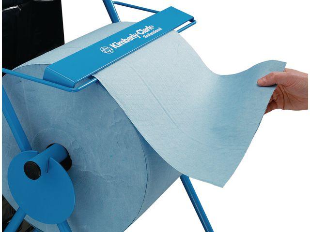 Golvställ/säckhållare blå