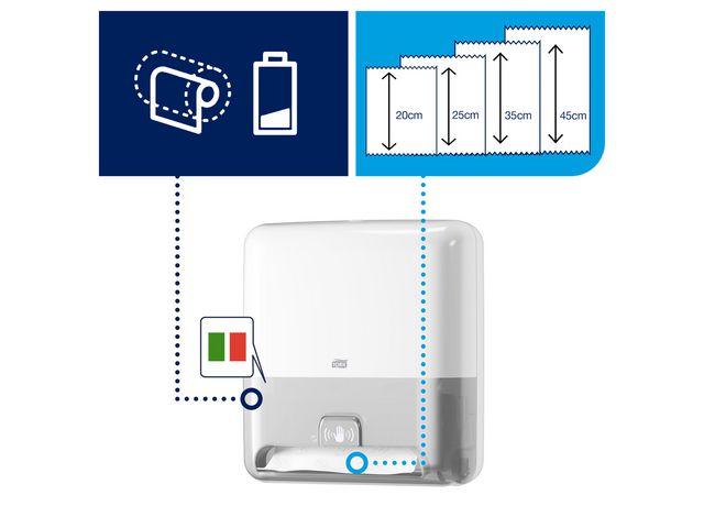 Dispenser TORK H1 MATIC Sensor vit