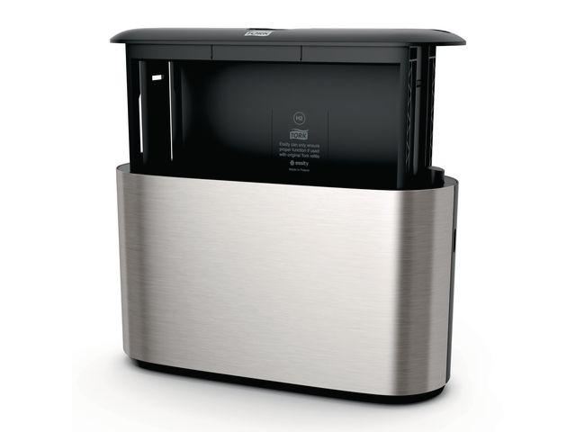 Dispenser TORK H2 Handduk fristå rostfri
