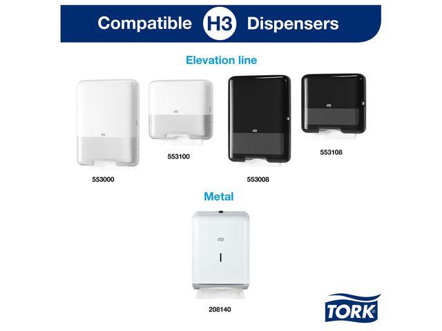 Dispenser TORK H3 Handduk mini vit