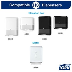 Dispenser TORK H3 Handduk mini vit