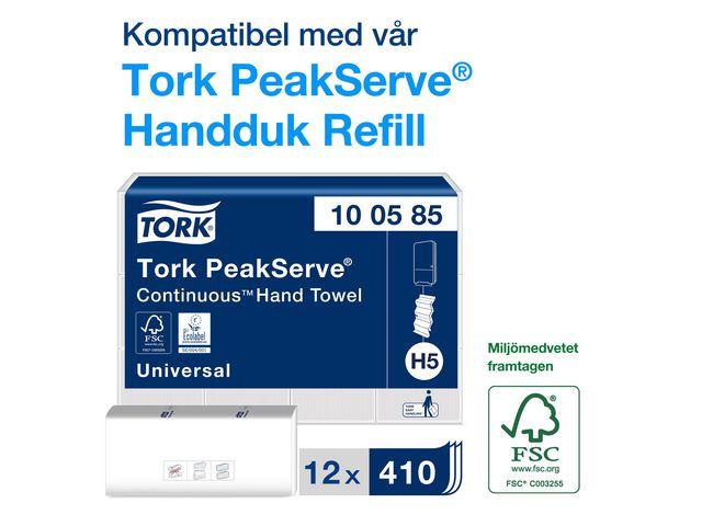 Dispenser TORK H5 Handduk PeakServ svar