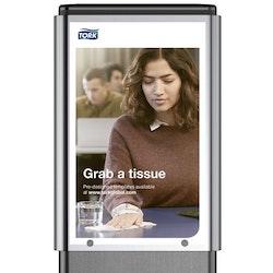 Informationsfönster TORK hygienställ