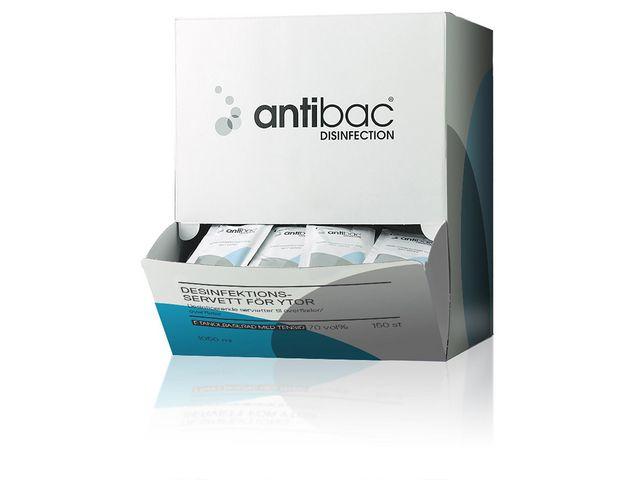 Desinfektionsservett ANTIBAC 150/FP