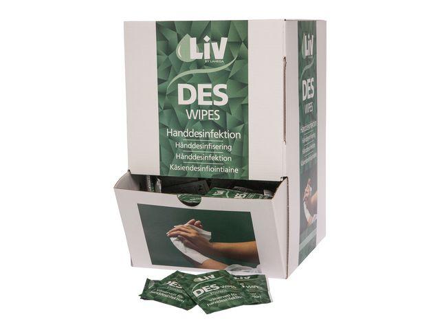 Handdesinfektion LIV Wipes 250/FP