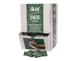 Handdesinfektion LIV Wipes 250/FP