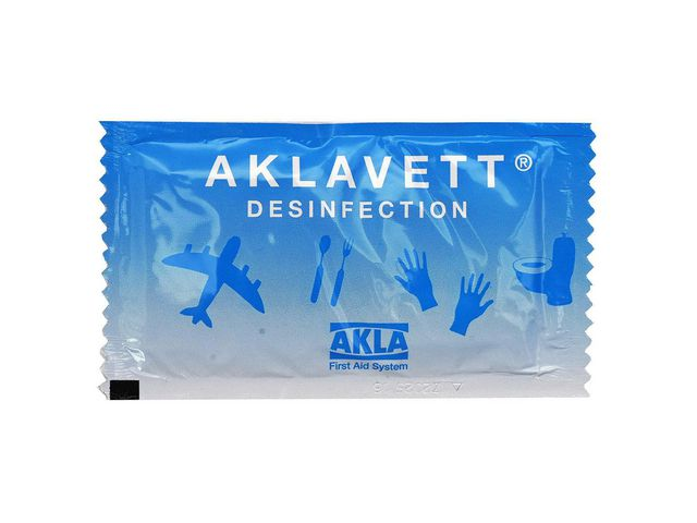 Handdesinfektionsservett AKLAVETT 800/F