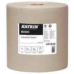 Industritork KATRIN Basic L grå 564m