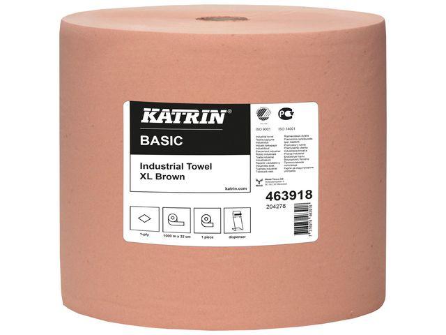 Industritork KATRIN Basic XL brun 1000m