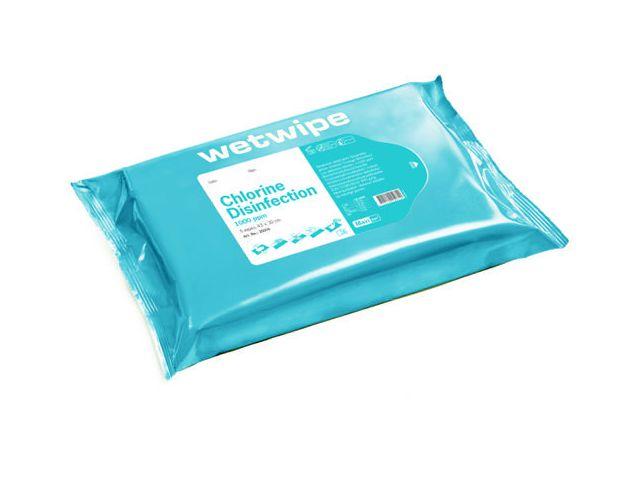 Ytdesinfektionsduk Chlorine Maxi 5/FP