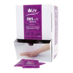 Ytdesinfektionservett LIV Des +72 150/F