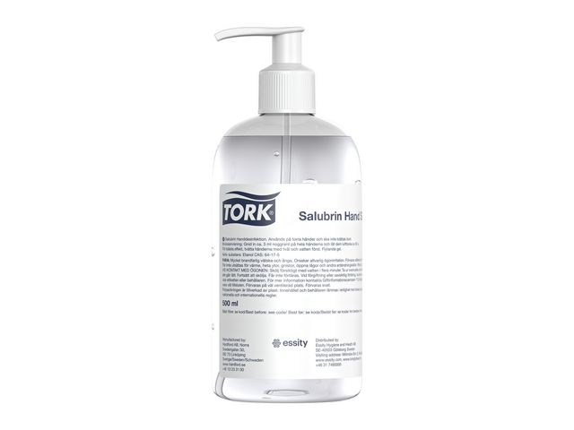 Handdesinfektion TORK Salubrin Gel 500ml