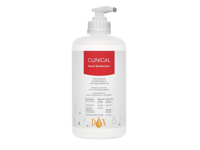 Handdes. DAX Clinical inkl. pump 500ml