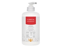 Handdes. DAX Clinical inkl. pump 500ml