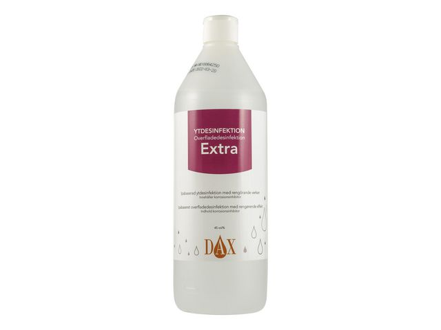 Ytdesinfektion DAX Extra 1000ml