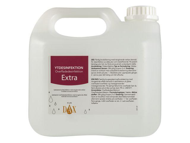 Ytdesinfektion DAX Extra 3000ml