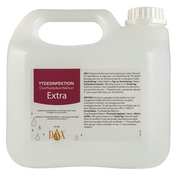 Ytdesinfektion DAX Extra 3000ml