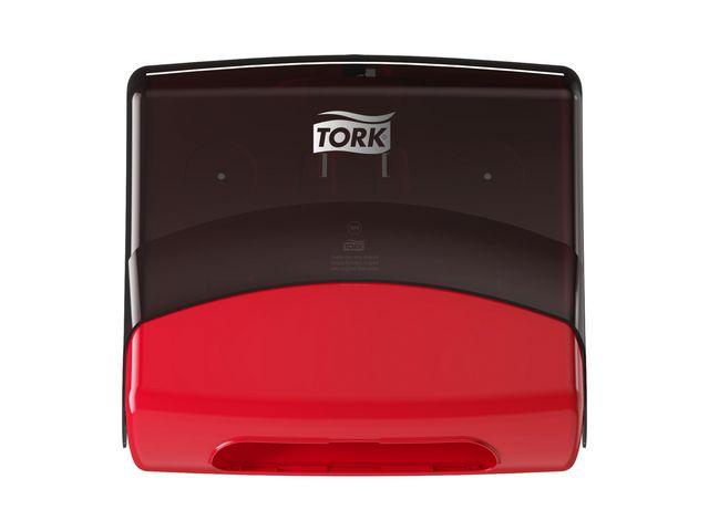 Dispenser TORK W4 Torkduk röd