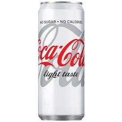 Dricka COCA-COLA Light Burk 33cl 20/FP
