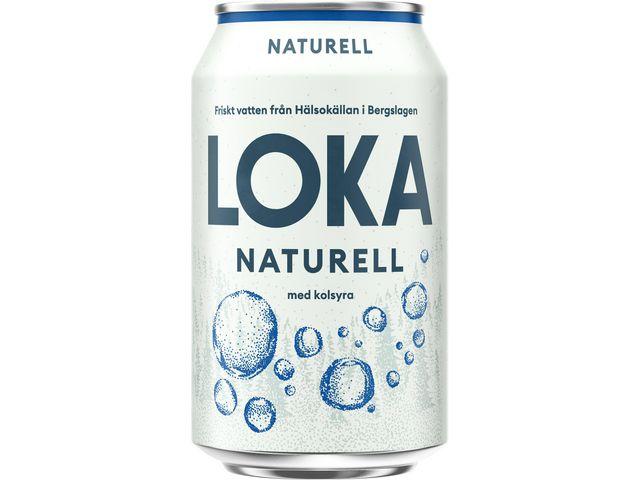 Dricka LOKA Naturell Burk 33cl 24/FP