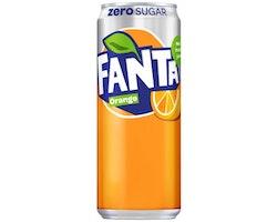 Dricka FANTA ZERO Orange Burk 33cl  20/FP