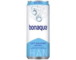 Vatten BONAQUA Naturell Burk 33cl 20/FP