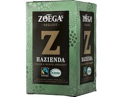 Kaffe ZOÉGAS Hazienda ekologiskt 450g