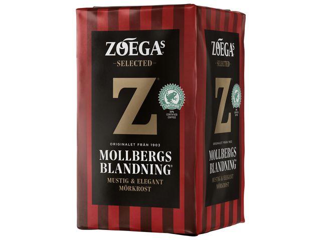 Kaffe ZOÉGAS Mollbergs blandning 450g