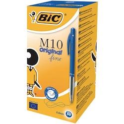 Kulpenna BIC Clic M10 0,7 blå 50/FP