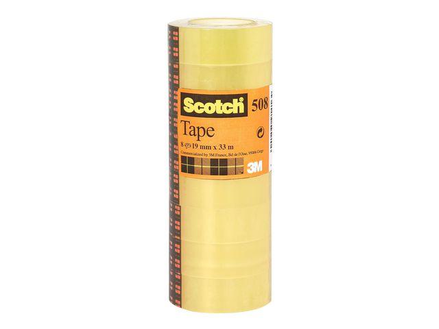 Kontorstejp SCOTCH 508 standard 33mx15m10/FP