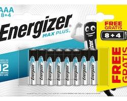 Batteri ENERGIZER Max Plus AAA 12/FP