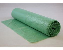 Papperskorgspåse Grön PE 90% 30L 100/RL