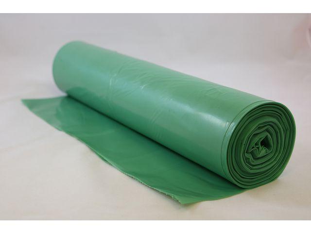Plastsäck Grön PE 90% 70L 25/RL
