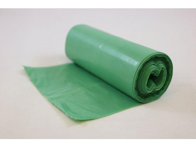 Hundpåse Grön PE 90% 50/RL