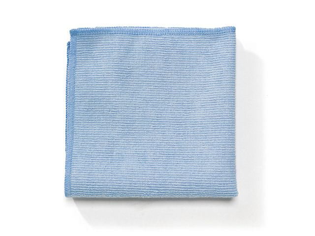 Microfiberduk 40x40cm blå 12/FP