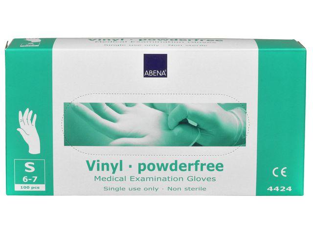 Handske vinyl puderfri S 100/FP
