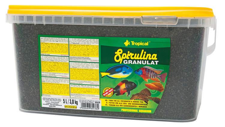 Spirulina Granulat (6%) 5 liter