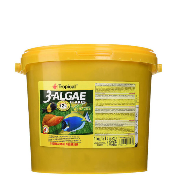 3-algae flakes 21 liter