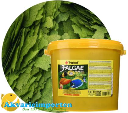 3-algae flakes 21 liter A