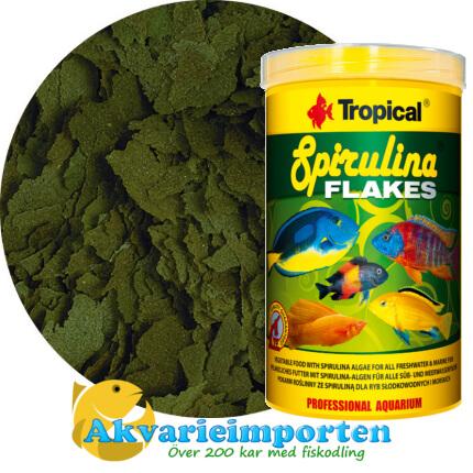 Spirulina flakes (6%) 1000 ml