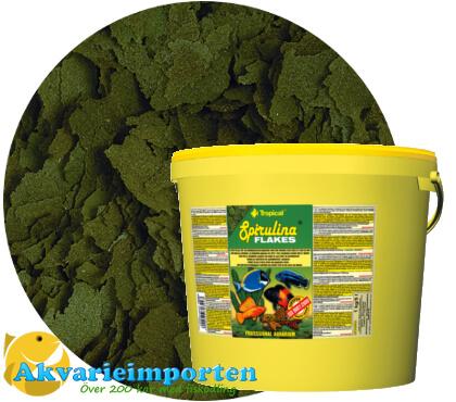 Spirulina flakes (6%) 11 liter A