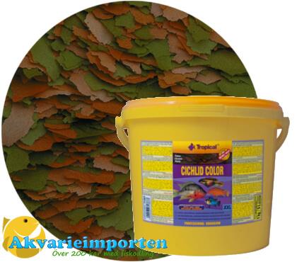 Cichlid Color Flakes 11 liter A