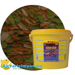 Cichlid Color Flakes 21 liter