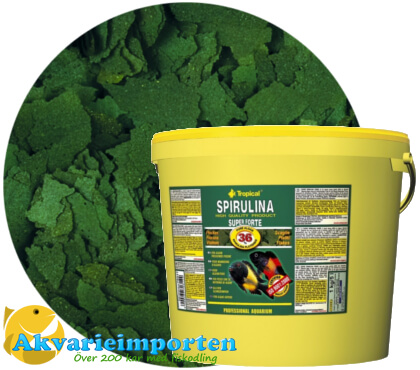 Super Spirulina Forte (36%) 21 liter A