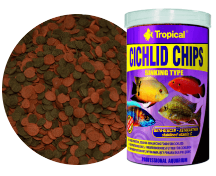 Cichlid Chips 1000 ml A