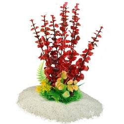 Plastväxt Bacopa red 29 cm